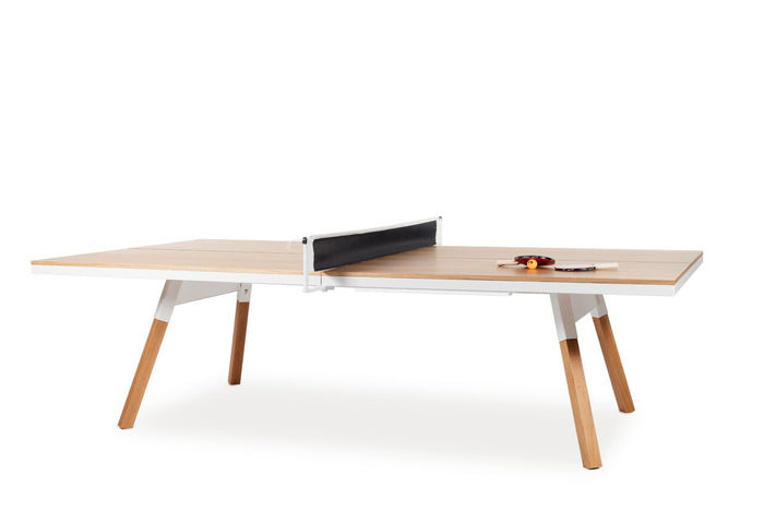 RS Barcelona You and Me Oak Ping Pong Table