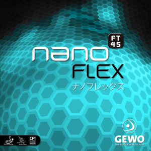GEWO nanoFLEX FT45 Table Tennis Rubber