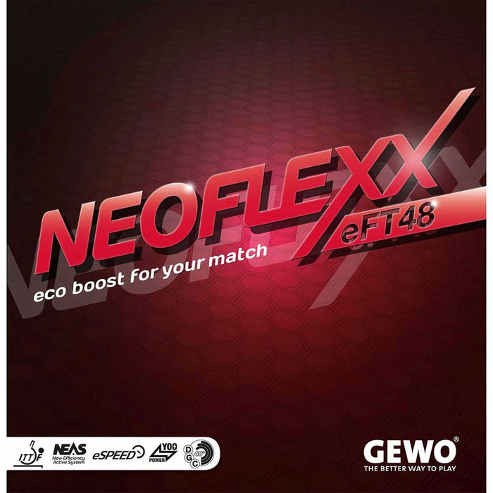 GEWO Neoflexx eFT 48 Offensive Table Tennis Rubber