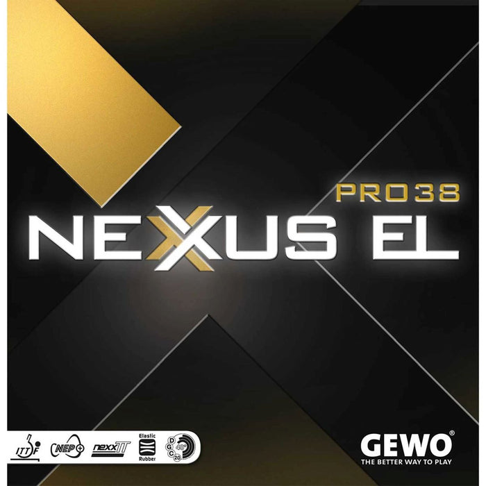 GEWO Nexxus EL Pro 38 Offensive Table Tennis Rubber