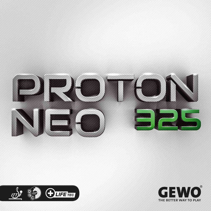 GEWO Proton Neo 325 Offensive Table Tennis Rubber