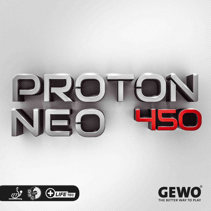 GEWO Proton Neo 450 Offensive Table Tennis Rubber