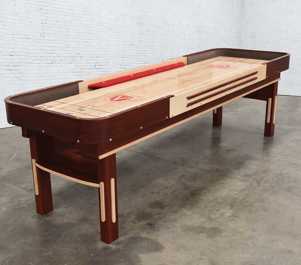 Venture 9' Grand Deluxe Bank Shot Shuffleboard Table