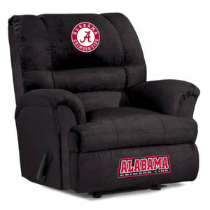 Alabama Crimson Tide NCAA Big Daddy Microfiber Recliner