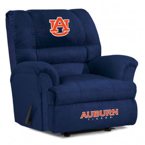 Auburn Tigers NCAA Big Daddy Microfiber Recliner