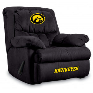 Iowa Hawkeyes NCAA Microfiber Home Team Recliner
