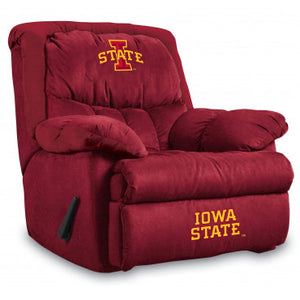 Iowa State Cyclones NCAA Microfiber Home Team Recliner