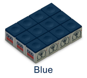 Billiard Chalk Cube - Blue