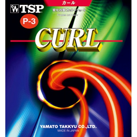 TSP Curl P3/P-3 Long Pips Table Tennis Rubber