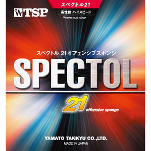 TSP Spectol 21 Offensive Sponge Short Pips Table Tennis Rubber