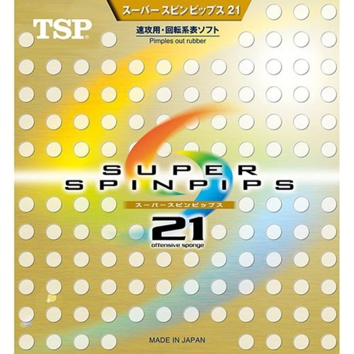 TSP Super Spinpips 21 Offensive Sponge Table Tennis Rubber