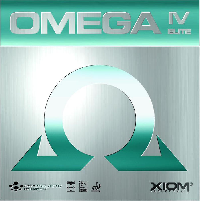 XIOM Omega IV Elite Offensive Table Tennis Rubber