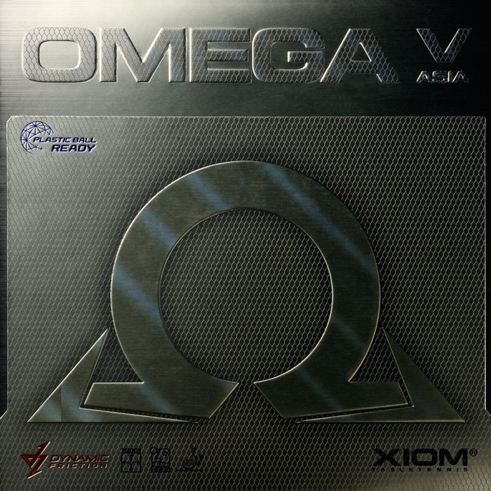 XIOM Omega V Asia Offensive Table Tennis Rubber