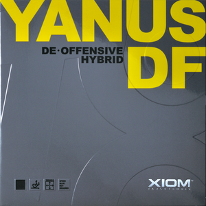 XIOM Yanus DF Defensive + Offensive Hybrid Table Tennis Rubber