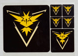 "Pokémon Go ""Team Mystic"" Affiliation Decals"