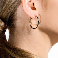 rosegold-plain-hoop-earrings-stainless-hypoallergenic-T217E004DORO-MIA
