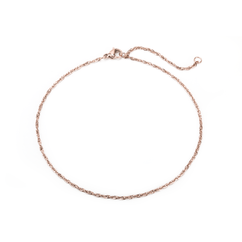 anklet nest gold and charm rick rose com solid product notonthehighstreet by original silver