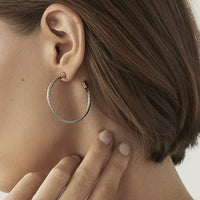 Nautica hoop earrings