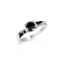 black classic engagement ring T116R004ARNO MIAJWL