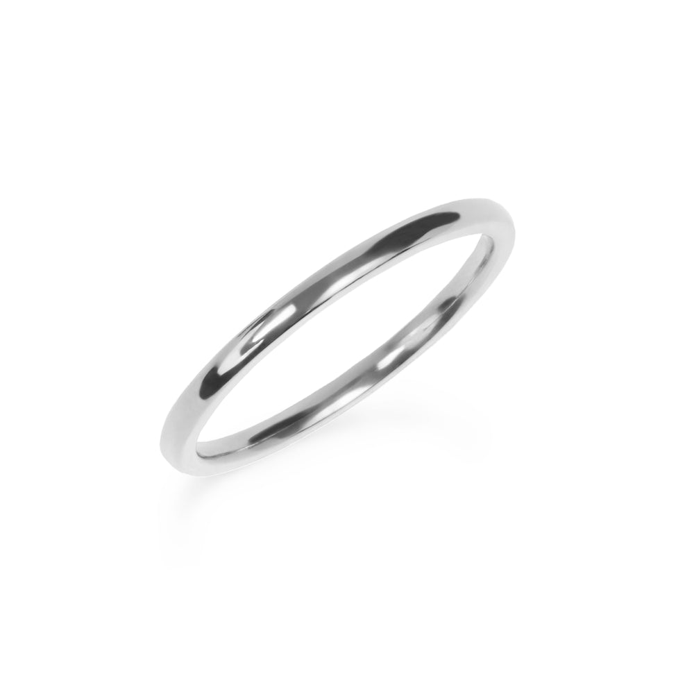 Plain stacking ring