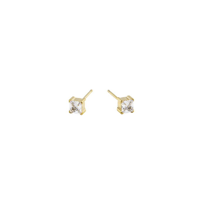Times Square stud earrings