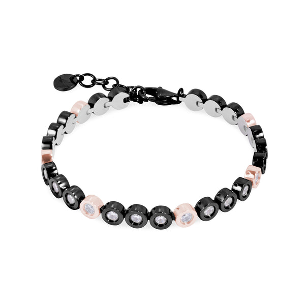 stainless steel bracelet for women hypoallergenic T418B004ARNO
