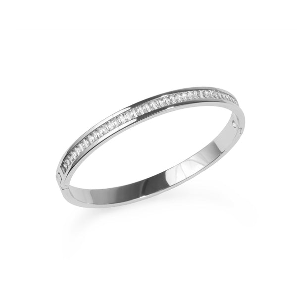minimal silver bracelet for women - T418B005AR