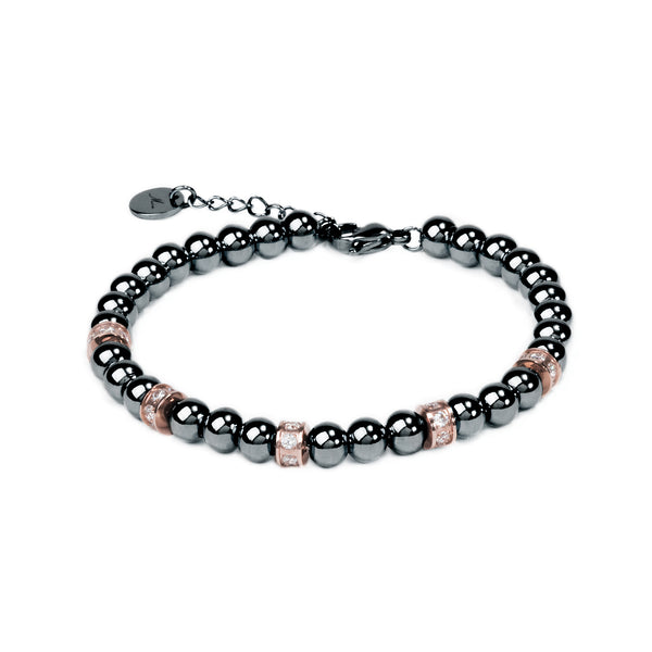 black beads bracelet for women