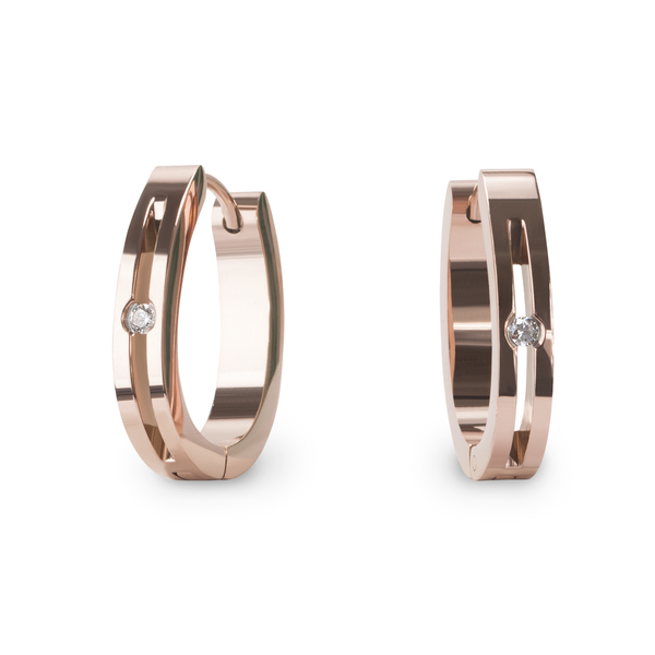 rosegold-huggie-earrings-stainless-boucles-oreilles-or-rose-acier-inox-T411E052DORO-MIA