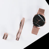 rose gold classic bangle bracelet women