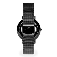 black mother of pearl watch