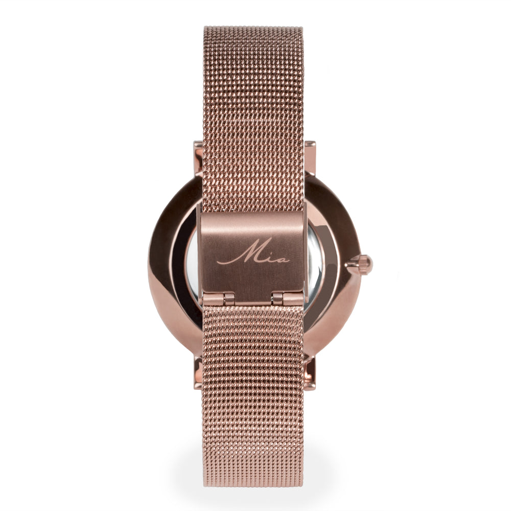 freja rose image set watches from skagen watch mesh ladies stone gold