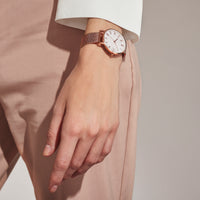 mother of pearl women watch