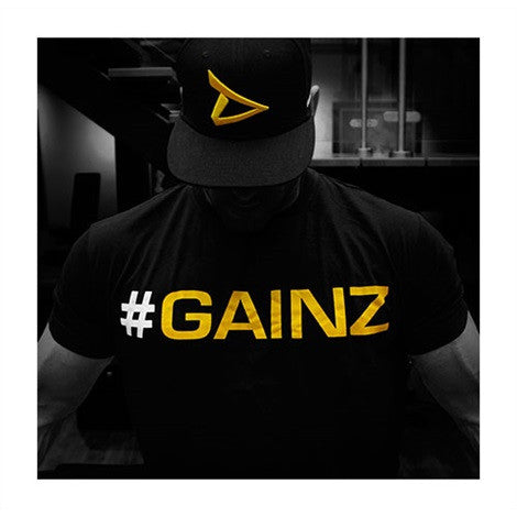 "Dedicated T-Shirt - ""#GAINZ"""