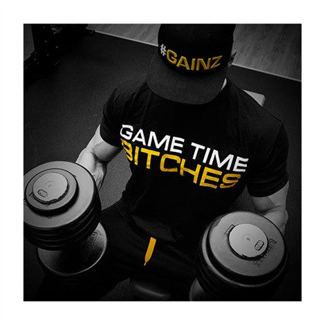 "Dedicated T Shirt ""Game Time"" -"