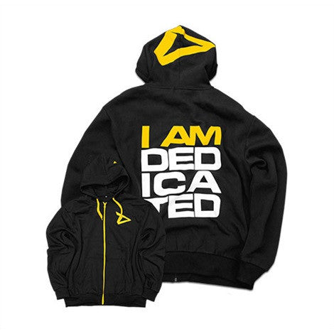 "Dedicated Tracksuit Hoodie ""I AM DEDICATED"""