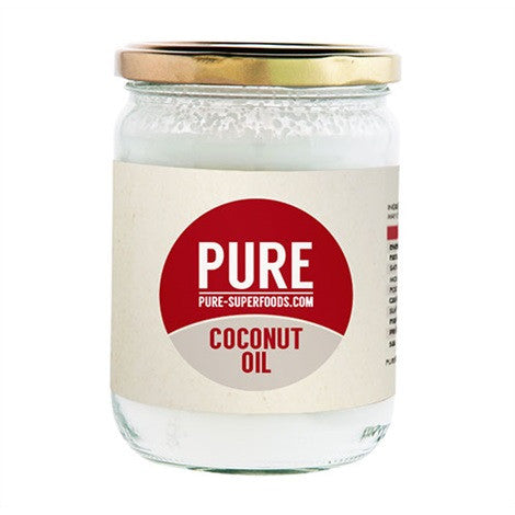 Pure Superfoods Coconut Oil - Extra Virgin Unrefined
