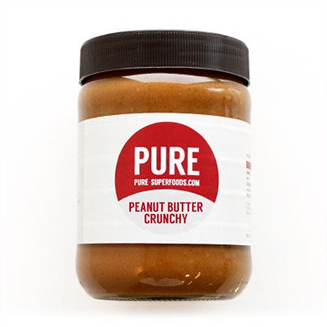 Pure Superfoods Crunchy Peanut Butter
