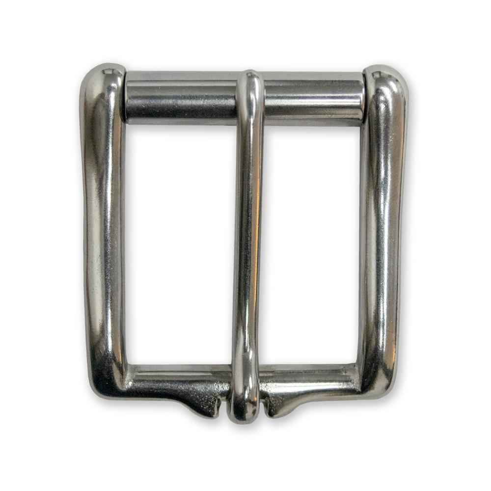 "Stainless Low Profile 1 1/2"" Roller Buckle"