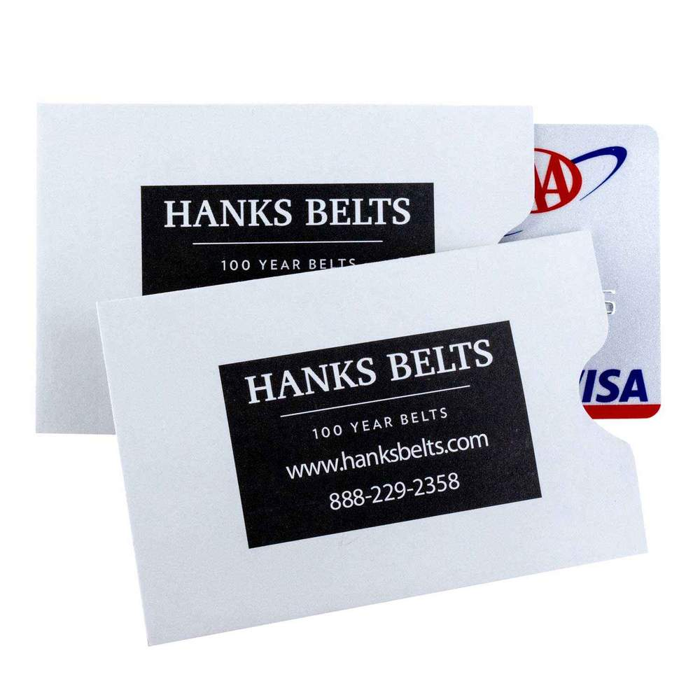 RFID Shield Sleeves For Hanks Wallets - 5 Pack