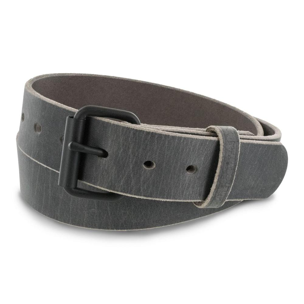 Hanks Belts Crazy Horse Belt The Glacier - Grey