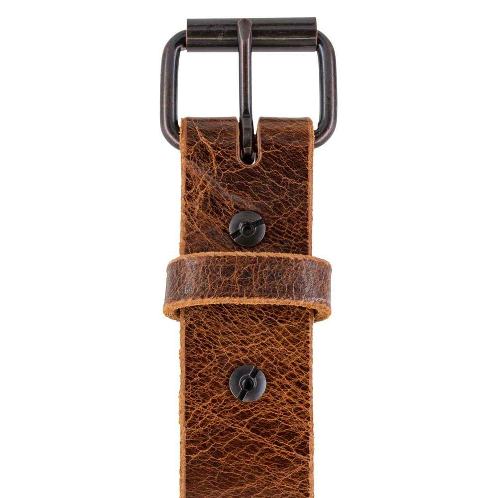 Rustic Belt Sunset Brown