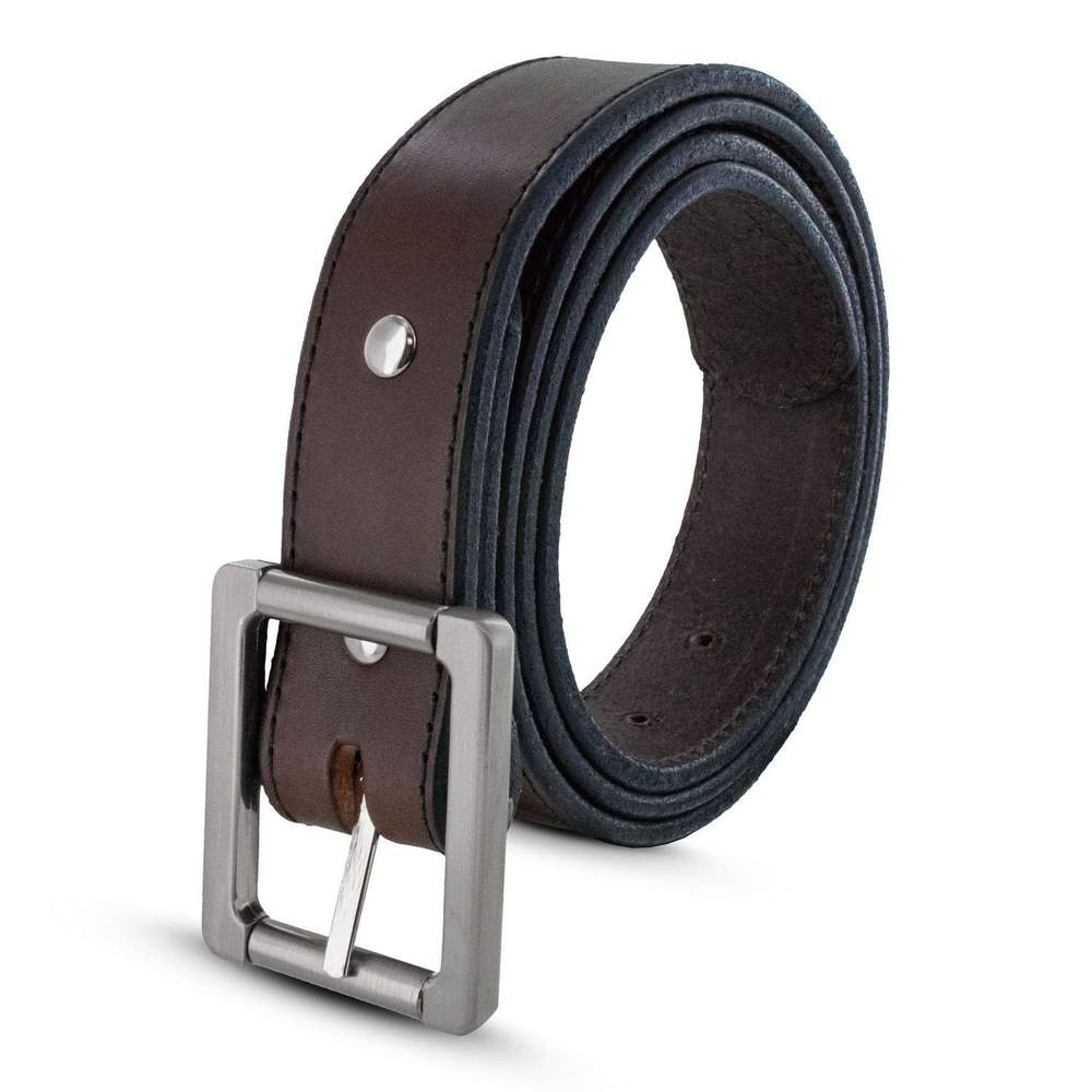 Hanks Belts USA Made Heavy Duty Work Belt - Brown