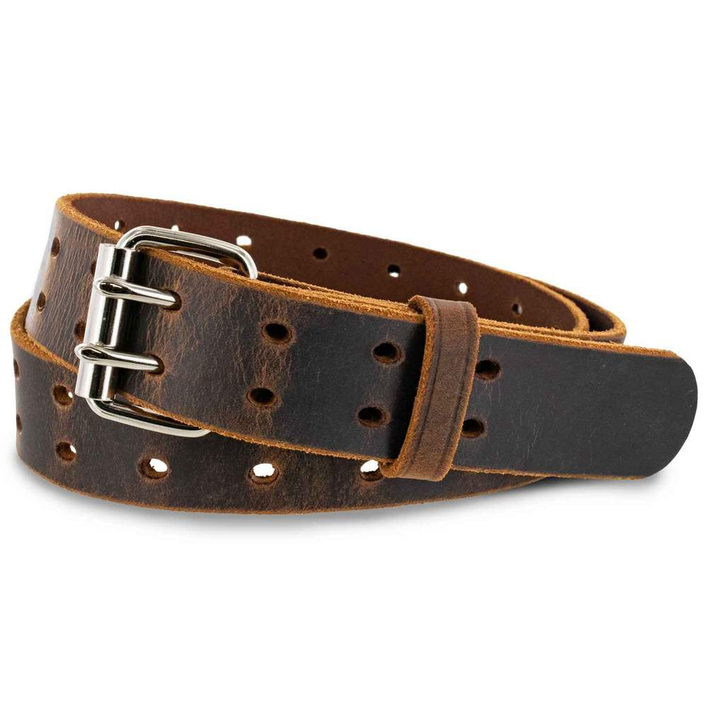 The Woodstock Retro Jean Belt - Brown