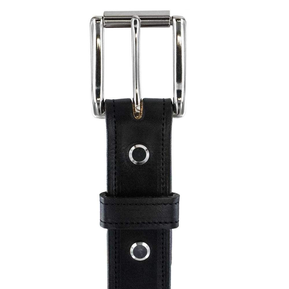 Hanks Belts Leather Lined Legend Belt - Black