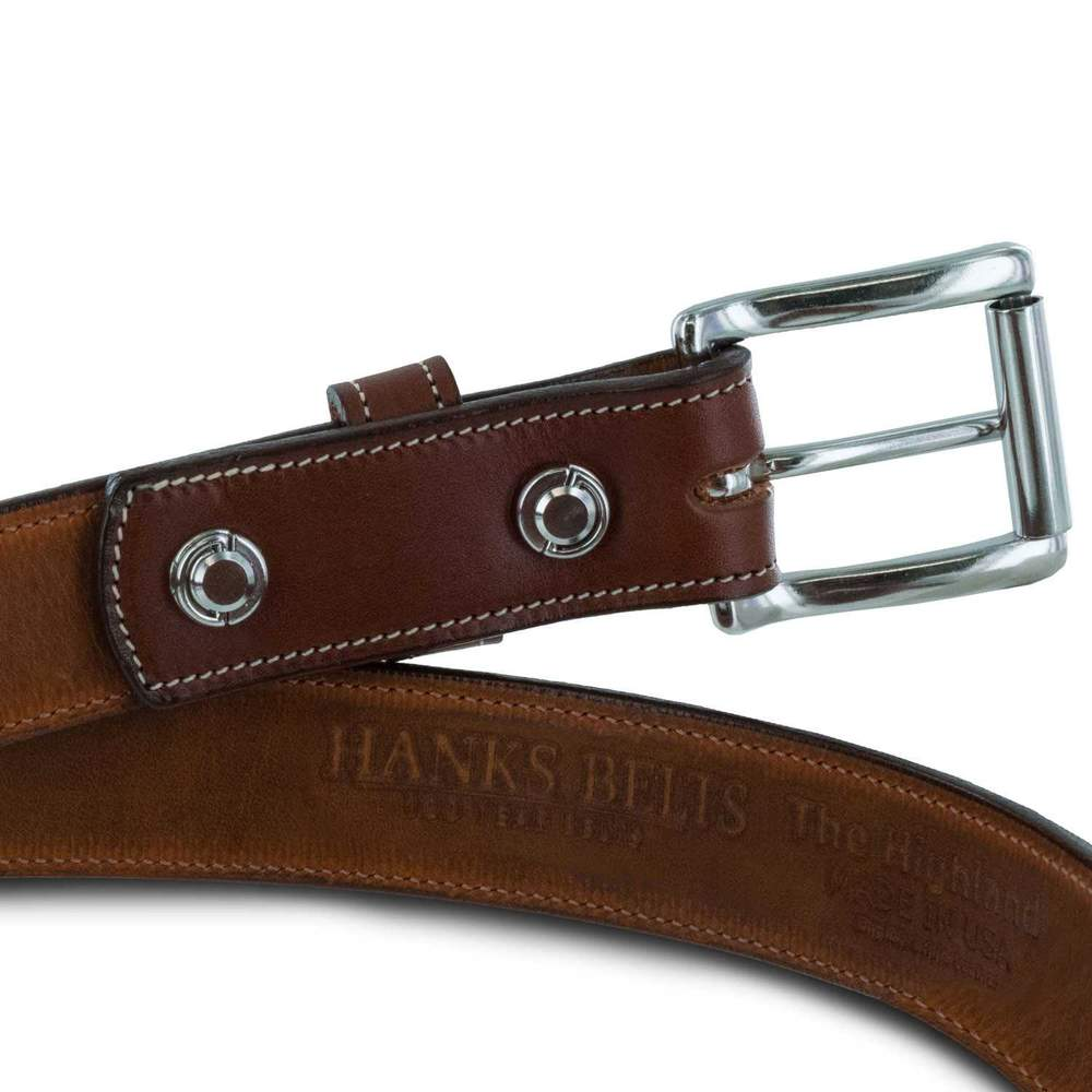 Hanks Belts Leather Lined Legend Belt - Oak
