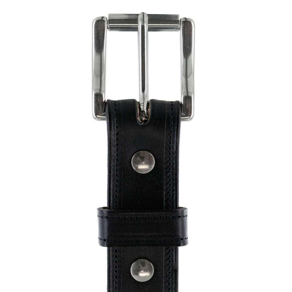 1 1/4 Padded USA Made Hanks Esquire belt - Black