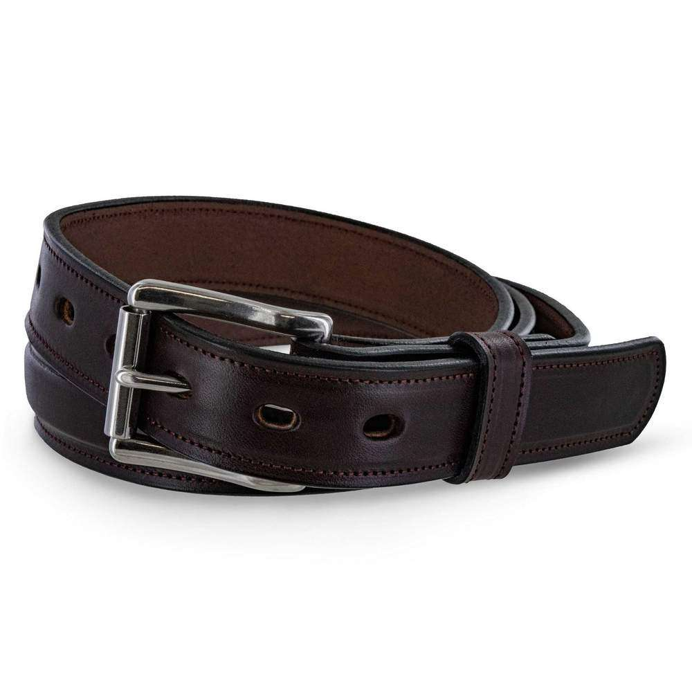 1 1/4 Padded USA Made Hanks Esquire belt - Havana