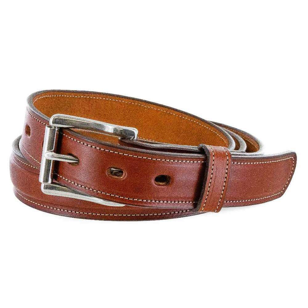 1 1/4 Padded USA Made Hanks Esquire belt - Oak