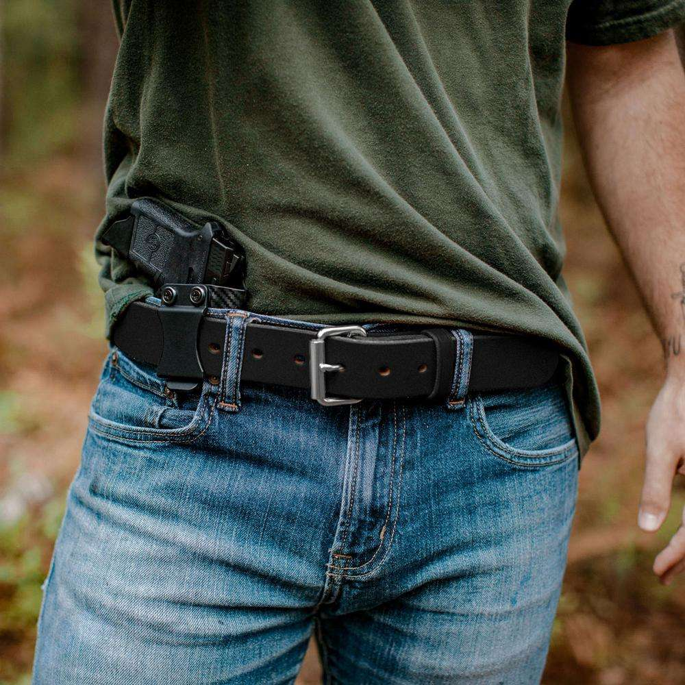 Hanks Gunner Belt - Hanks USA Made CCW Gun Belts - Black